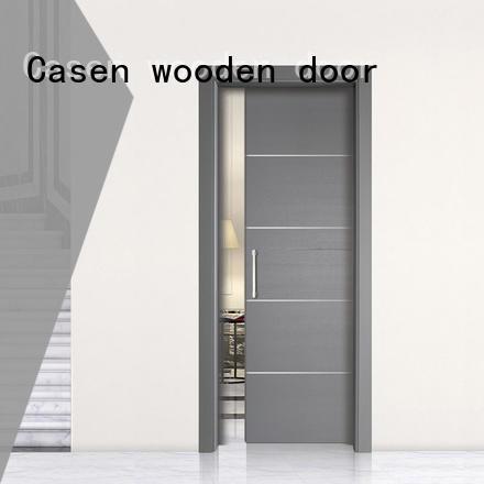 Casen wooden half glass interior door easy for bedroom