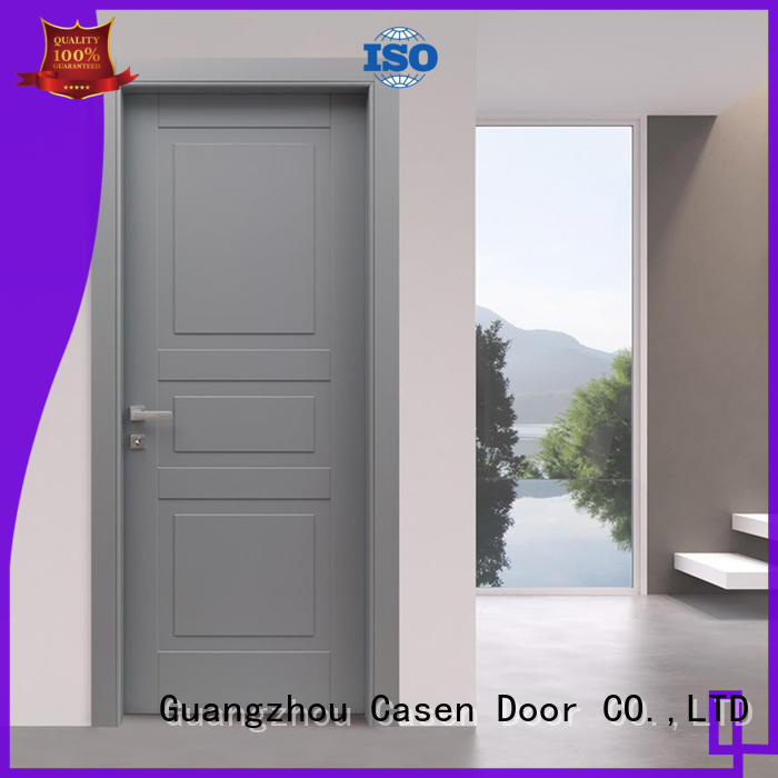 Casen flat composite door gray for bathroom