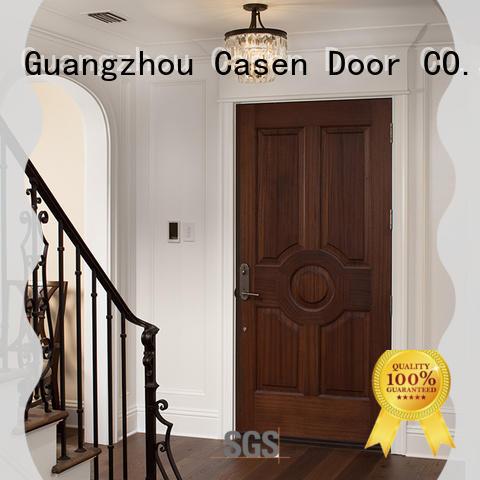 Casen fast installation mdf 5 panel door at discount for bedroom