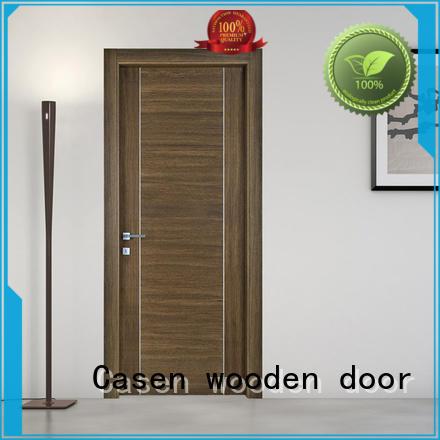 luxury wooden door for bathroom Casen