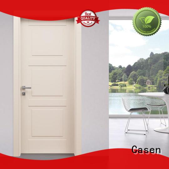 light wood style white Casen Brand 4 panel doors supplier