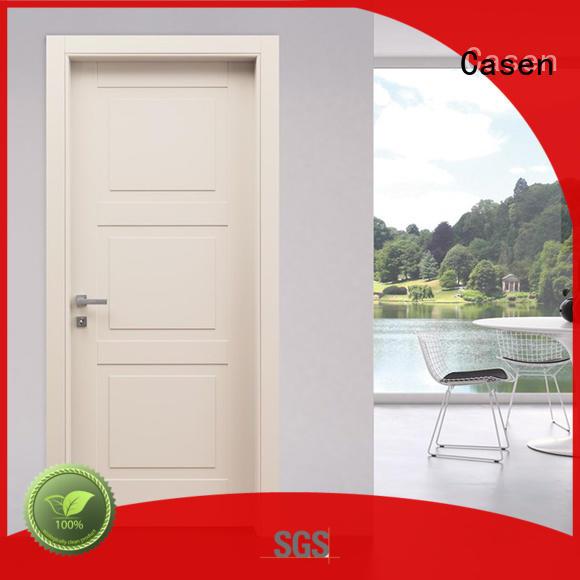 white wood modern composite doors wooden Casen