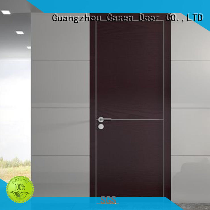 Fashion,simple design for interior modern wood door  JS-6002A