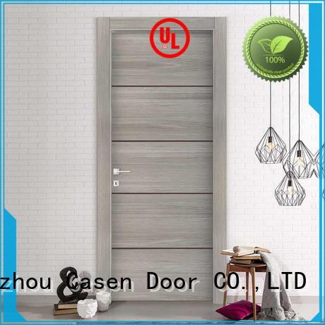 modern wood bathroom doors glass aluminium for bedroom Casen