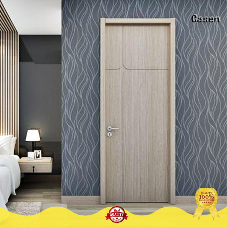 Casen funky interior wood doors cheapest factory price for kitchen