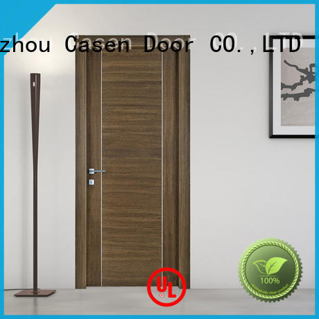 OBM modern house doors high quality solid wood for hotel