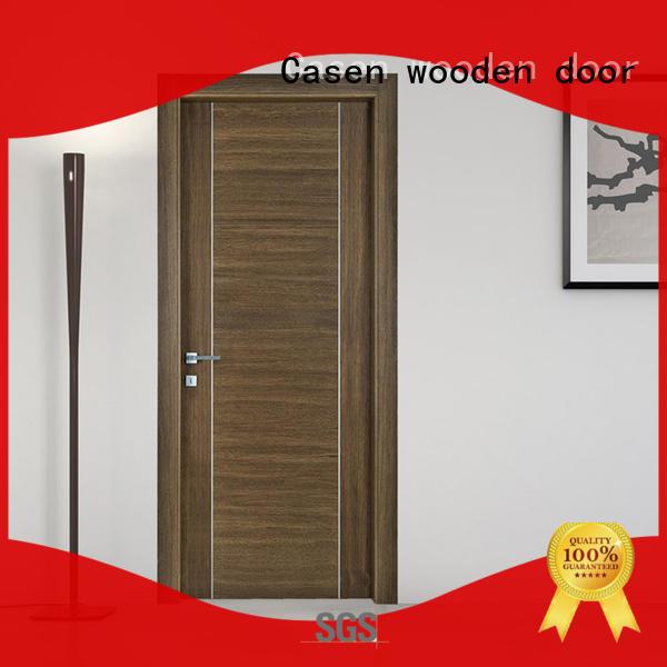 Casen high quality soundproof door solid wood for hotel