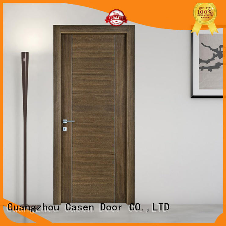 Casen modern design soundproof interior door stainless steel for bedroom