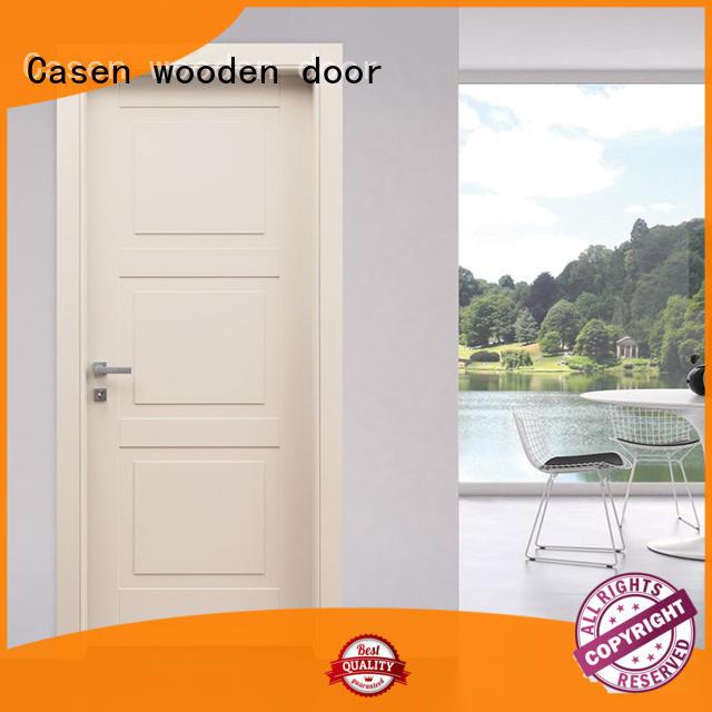 wooden 4 panel doors gray for bathroom Casen