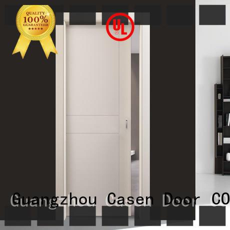 Casen elegant interior wood doors cheapest factory price for shop
