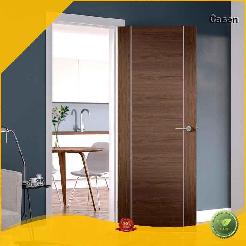 Hot natural soundproof door simple wood Casen Brand