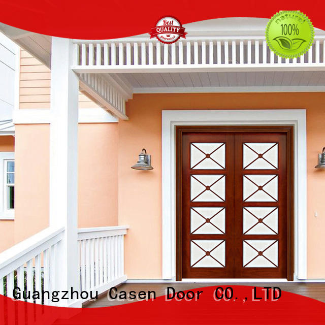Casen main solid wood front doors antique for house