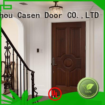 Casen mdf doors easy installation for washroom