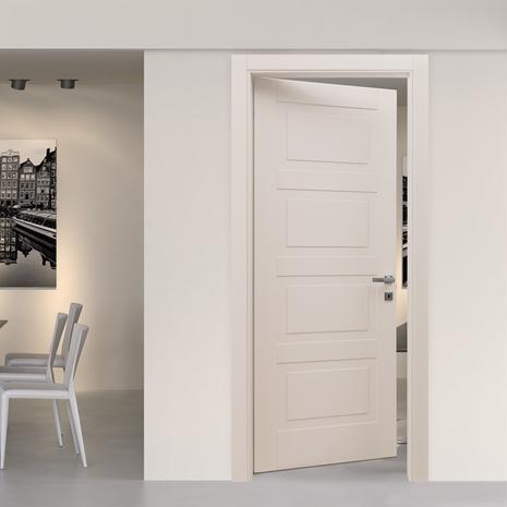 Interior room wood door