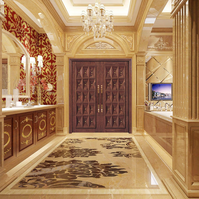 Casen Brand natural front contemporary entry doors design supplier