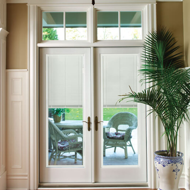solid wood main door design glass manufacturer for store-1