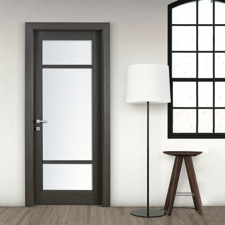 hot-sale interior bathroom doors glass aluminium for bedroom
