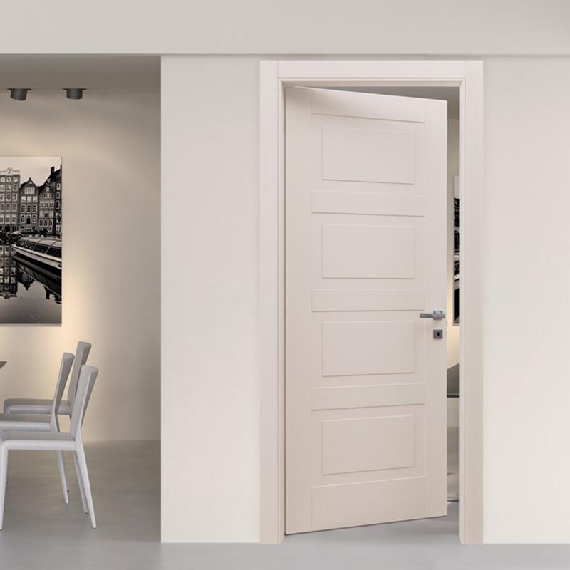 Casen white wood small internal doors vendor for washroom-1