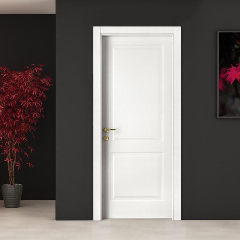 Casen white wood small internal doors vendor for washroom-3