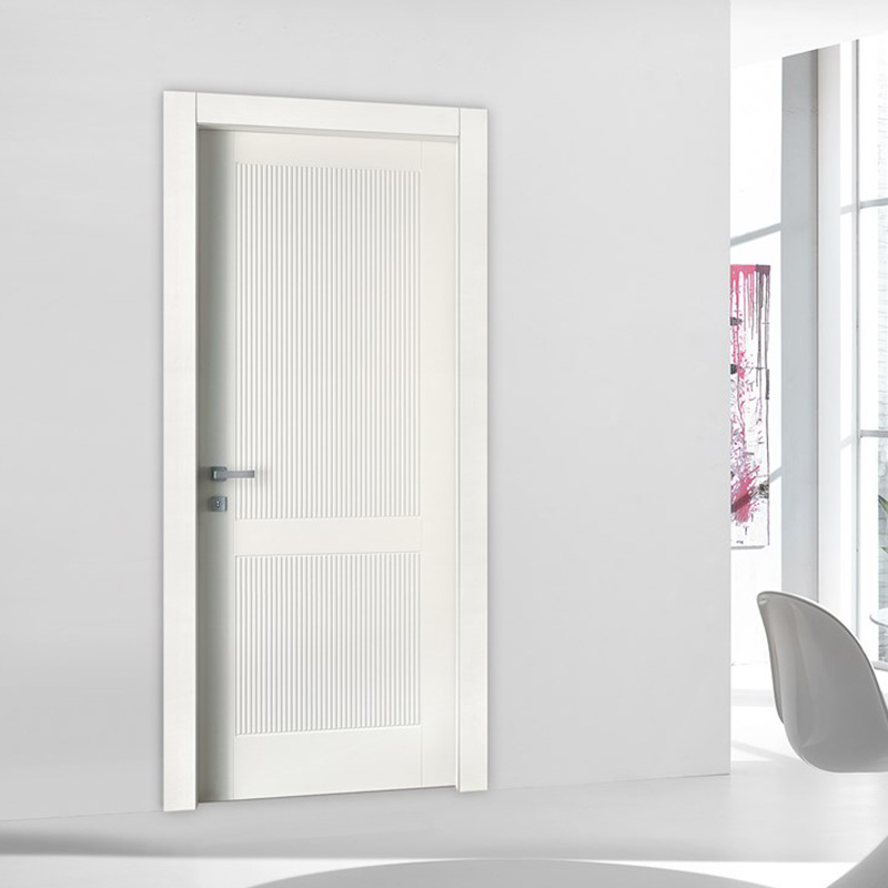 high quality 6 panel doors flat simple style for washroom-4