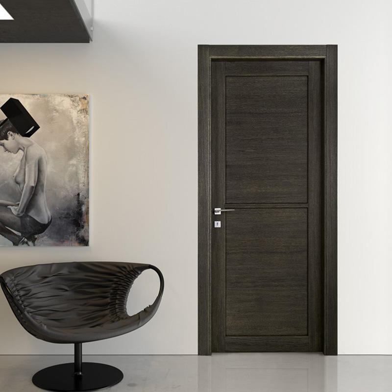 Simple design,easy style wood for dark interior wood door JS-2001A