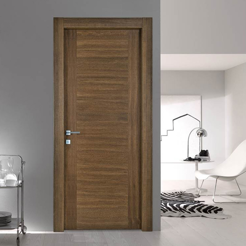 Simple design,easy style wood for dark interior wood door JS-2001A-4