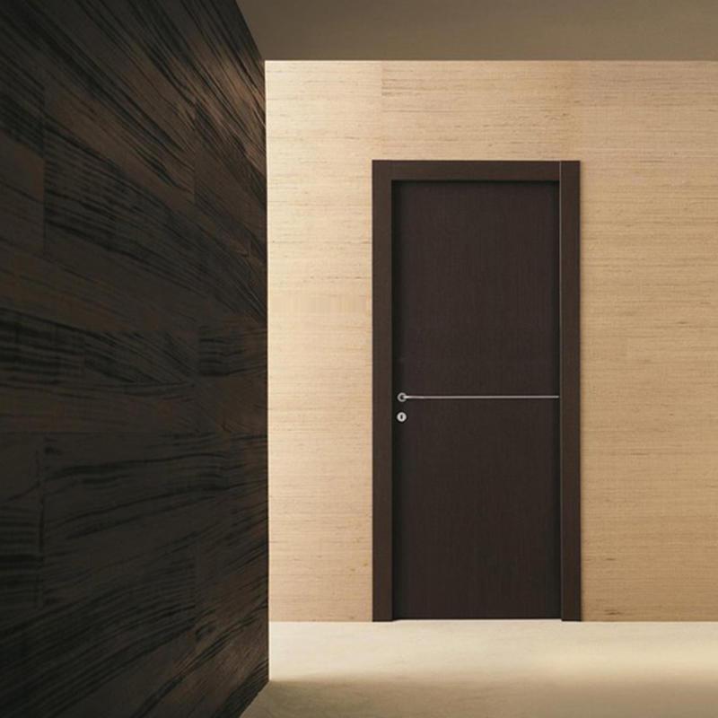 Modern design soundproof wooden door for hotel classic wooden door JS-5001A