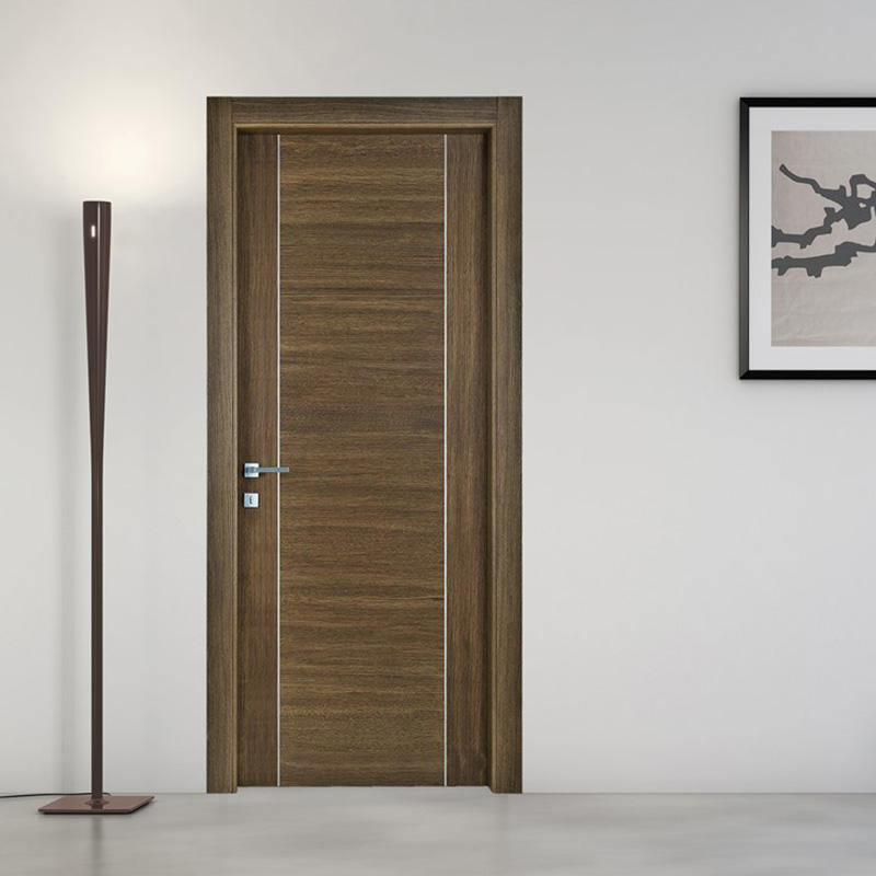 stainless aluminium wood Casen Brand solid wood interior doors manufacture