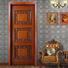 white color fancy doors modern single for living room