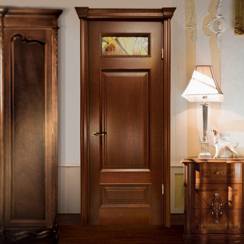 Casen white color solid wood interior doors fashion for store decoration