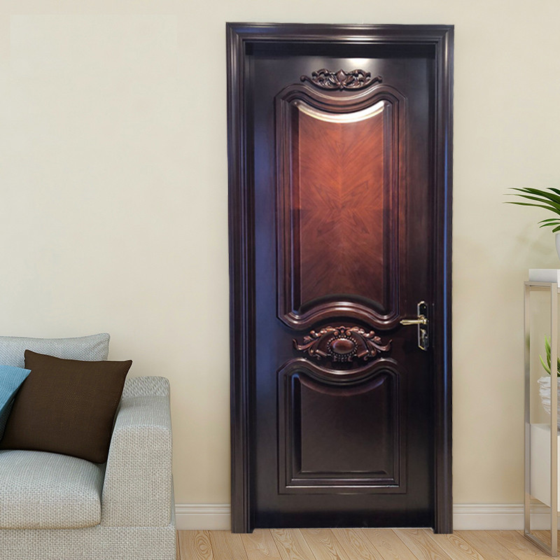 Casen white color solid wood interior doors fashion for store decoration-5