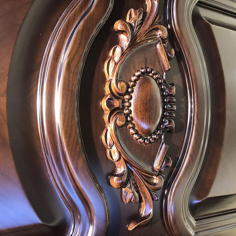 Casen american luxury wooden doors wholesale for living room-2