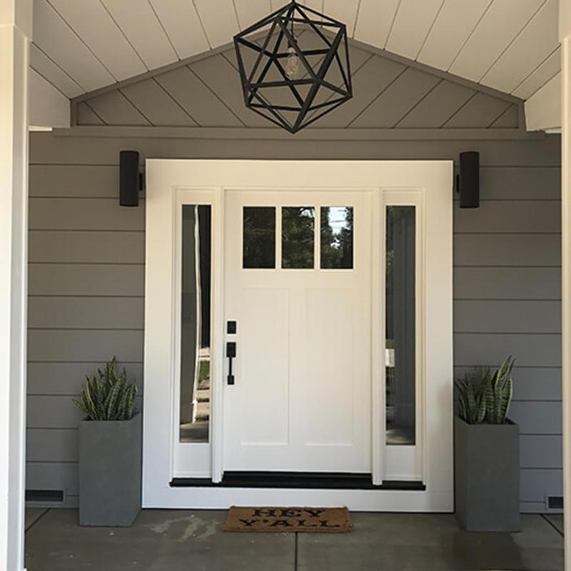 JS-1004A HDFdoors with glass can be front door,dining room,washroom or main door