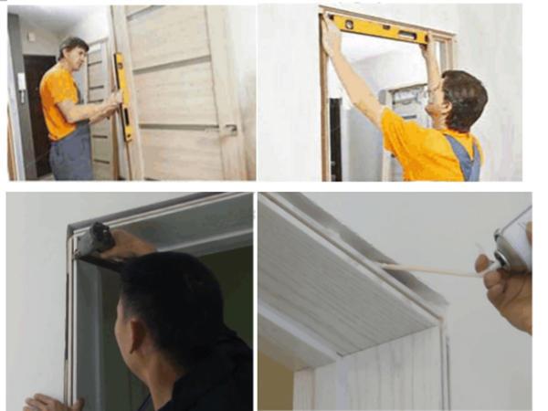 Installmentinstructionforwooddoor