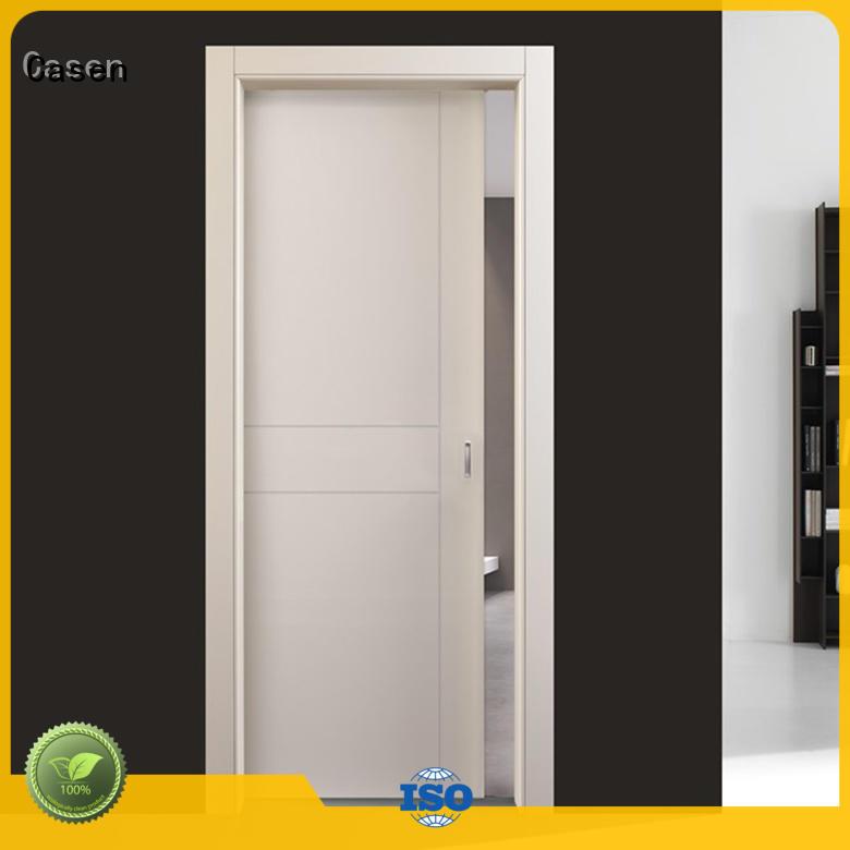 simple design custom interior doors cheapest factory price for living room Casen