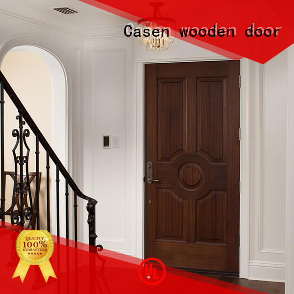 color bedroom solid core mdf interior doors Casen manufacture
