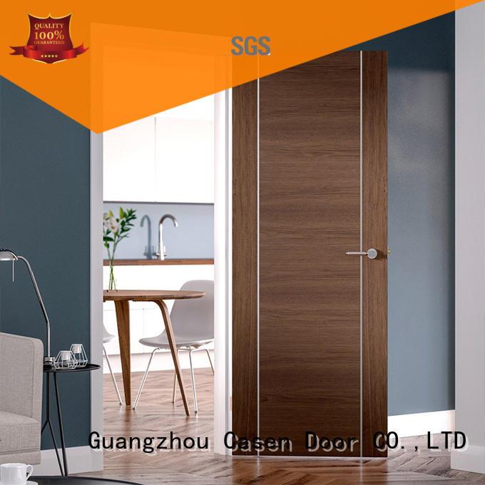 Casen high-end waterproof doors solid wood for shop
