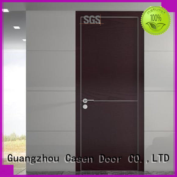 durable interior wood doors simple design wholesale for bathroom