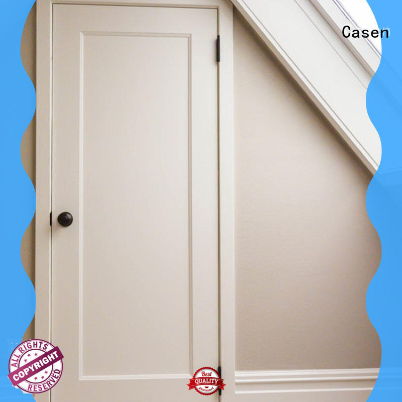 Casen chic 6 panel mdf interior doors cheapest factory price for decoration