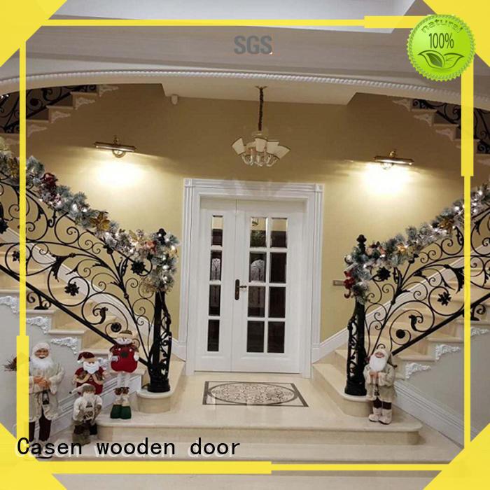 natural contemporary front doors edge villa Casen company