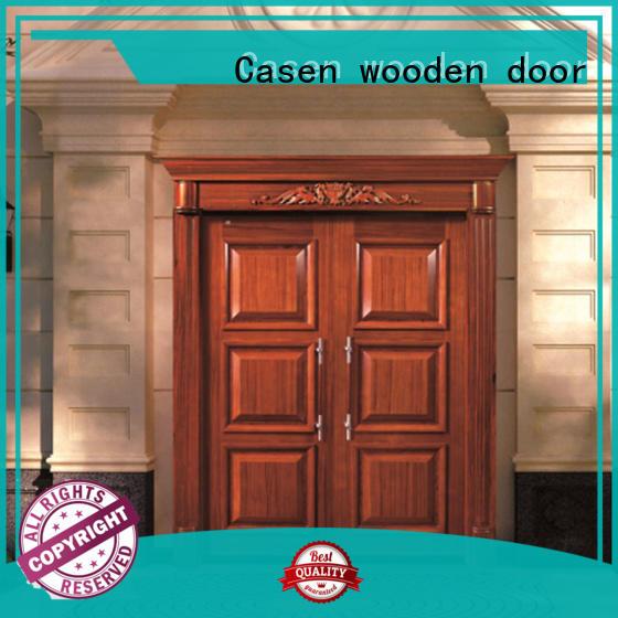 Casen beveledge oak doors glass for store
