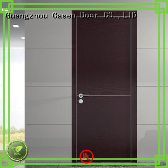 flat door modern wooden doors Casen Brand