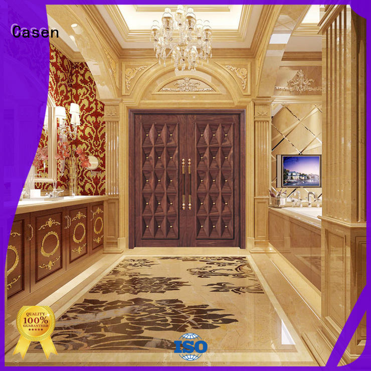 oak doors iron archaistic style for villa