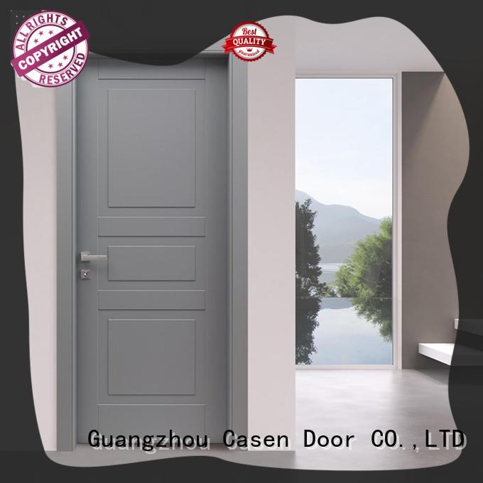 white wood modern composite doors best design for bathroom Casen