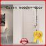 modern composite doors white wood for washroom Casen