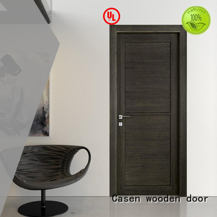wood Custom gray 4 panel doors flat Casen