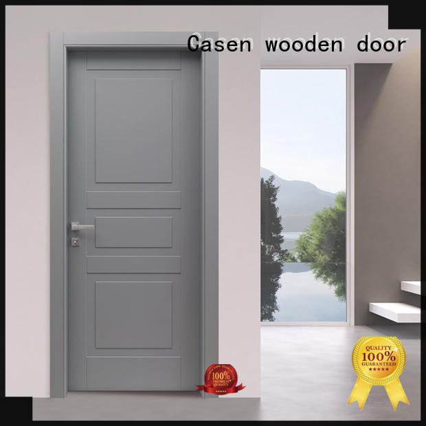 Casen high quality composite door interior for washroom