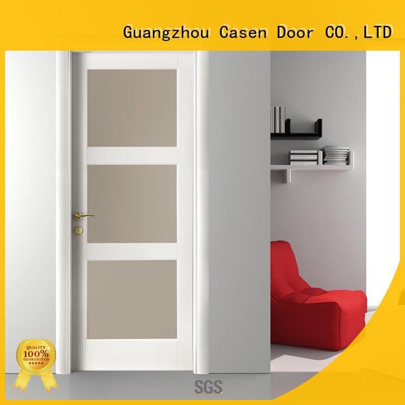 Casen wooden bathroom doors hot-sale for bedroom