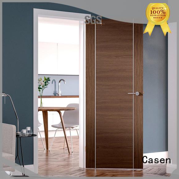 Casen high quality hardwood doors for bathroom