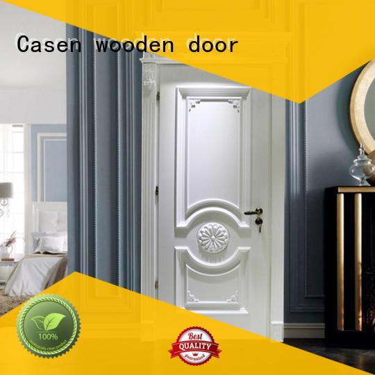Casen wooden luxury wooden doors modern for store decoration